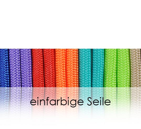 einfarbige Seile