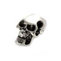 Zierperle, Bead,Totenkopf (Skull) mit Halteöse