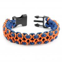 "Armband "" Stitched Cobra"" M - 220 mm"