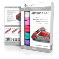 "Paracord 550 Armband Set ""basic"""