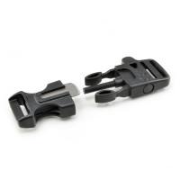 """Klickverschluss aus Kunststoff, integrierter Magnesium Feuerstarter """"fireflint"""""""
